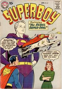 Cover Thumbnail for Superboy (DC, 1949 series) #64