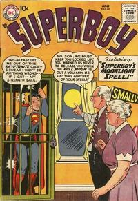 Cover Thumbnail for Superboy (DC, 1949 series) #65