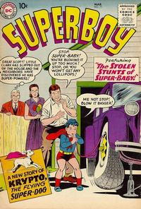 Cover Thumbnail for Superboy (DC, 1949 series) #71