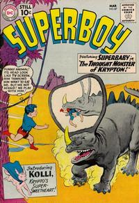 Cover Thumbnail for Superboy (DC, 1949 series) #87