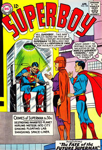 Cover Thumbnail for Superboy (DC, 1949 series) #120