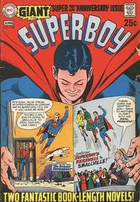Cover Thumbnail for Superboy (DC, 1949 series) #156