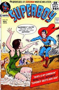 Cover Thumbnail for Superboy (DC, 1949 series) #179
