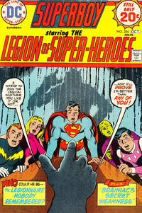 Cover Thumbnail for Superboy (DC, 1949 series) #204