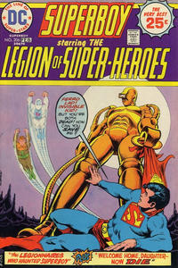 Cover Thumbnail for Superboy (DC, 1949 series) #206