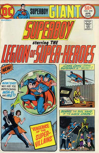 Cover Thumbnail for Superboy (DC, 1949 series) #208