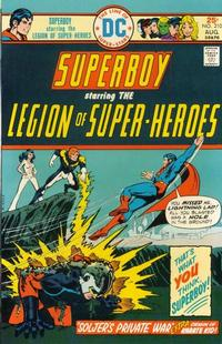 Cover Thumbnail for Superboy (DC, 1949 series) #210