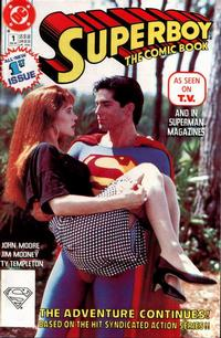 Cover Thumbnail for Superboy (DC, 1990 series) #1 [Direct]
