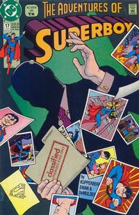 Cover for Superboy (DC, 1990 series) #17
