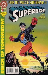 Cover Thumbnail for Superboy (DC, 1994 series) #1 [Direct Sales]