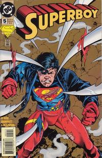 Cover Thumbnail for Superboy (DC, 1994 series) #5 [Direct Sales]