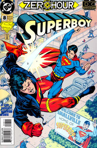 Cover Thumbnail for Superboy (DC, 1994 series) #8 [Direct Sales]