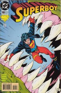 Cover Thumbnail for Superboy (DC, 1994 series) #10 [Direct Sales]