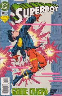 Cover Thumbnail for Superboy (DC, 1994 series) #11 [Direct Sales]