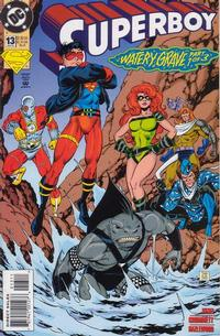 Cover Thumbnail for Superboy (DC, 1994 series) #13 [Direct Sales]