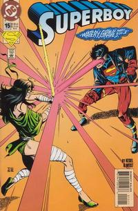 Cover Thumbnail for Superboy (DC, 1994 series) #15 [Direct Sales]