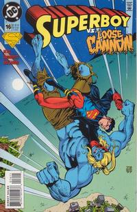 Cover Thumbnail for Superboy (DC, 1994 series) #16 [Direct Sales]