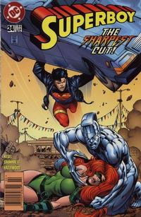 Cover Thumbnail for Superboy (DC, 1994 series) #24 [Newsstand]