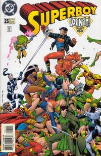 Cover Thumbnail for Superboy (DC, 1994 series) #25 [Direct Sales]