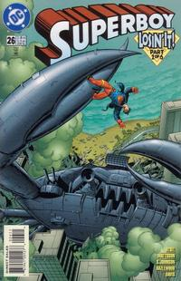 Cover Thumbnail for Superboy (DC, 1994 series) #26 [Direct Sales]