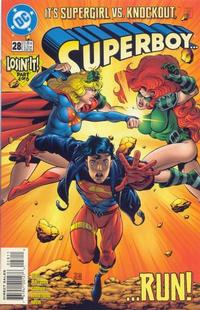 Cover Thumbnail for Superboy (DC, 1994 series) #28 [Direct Sales]