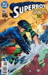 Cover Thumbnail for Superboy (DC, 1994 series) #30 [Direct Sales]