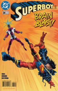 Cover Thumbnail for Superboy (DC, 1994 series) #34 [Direct Sales]