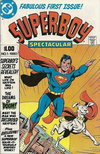Cover Thumbnail for Superboy Spectacular (DC, 1980 series) #1 [Traditionally-Distributed Variant]