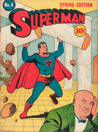 Cover Thumbnail for Superman (DC, 1939 series) #4