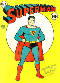 Cover Thumbnail for Superman (DC, 1939 series) #6