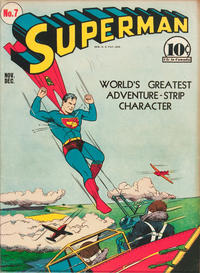 Cover Thumbnail for Superman (DC, 1939 series) #7