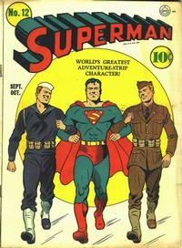 Cover Thumbnail for Superman (DC, 1939 series) #12