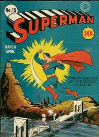 Cover Thumbnail for Superman (DC, 1939 series) #15