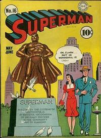 Cover Thumbnail for Superman (DC, 1939 series) #16