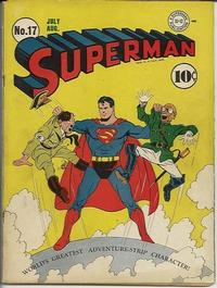 Cover Thumbnail for Superman (DC, 1939 series) #17