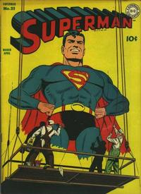 Cover Thumbnail for Superman (DC, 1939 series) #21