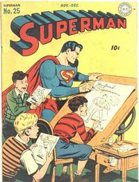Cover Thumbnail for Superman (DC, 1939 series) #25