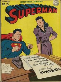 Cover Thumbnail for Superman (DC, 1939 series) #27