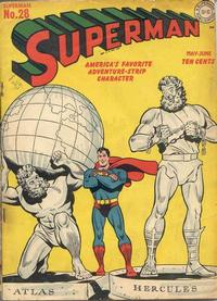 Cover Thumbnail for Superman (DC, 1939 series) #28