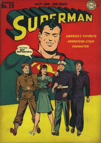 Cover Thumbnail for Superman (DC, 1939 series) #29