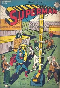 Cover Thumbnail for Superman (DC, 1939 series) #31