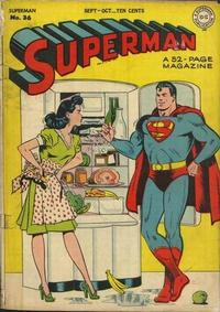 Cover Thumbnail for Superman (DC, 1939 series) #36