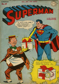 Cover Thumbnail for Superman (DC, 1939 series) #37