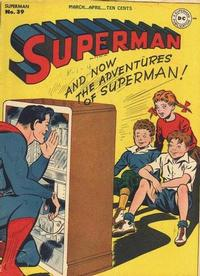 Cover Thumbnail for Superman (DC, 1939 series) #39