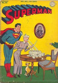 Cover Thumbnail for Superman (DC, 1939 series) #43