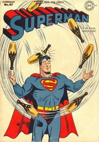 Cover Thumbnail for Superman (DC, 1939 series) #47