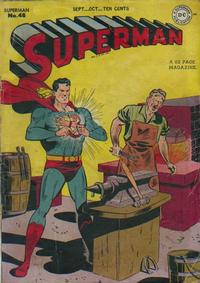 Cover for Superman (DC, 1939 series) #48