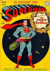 Cover Thumbnail for Superman (DC, 1939 series) #53