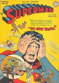 Cover for Superman (DC, 1939 series) #55