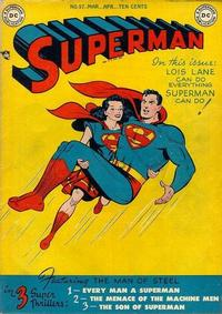 Cover Thumbnail for Superman (DC, 1939 series) #57
